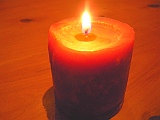 candle mood setting